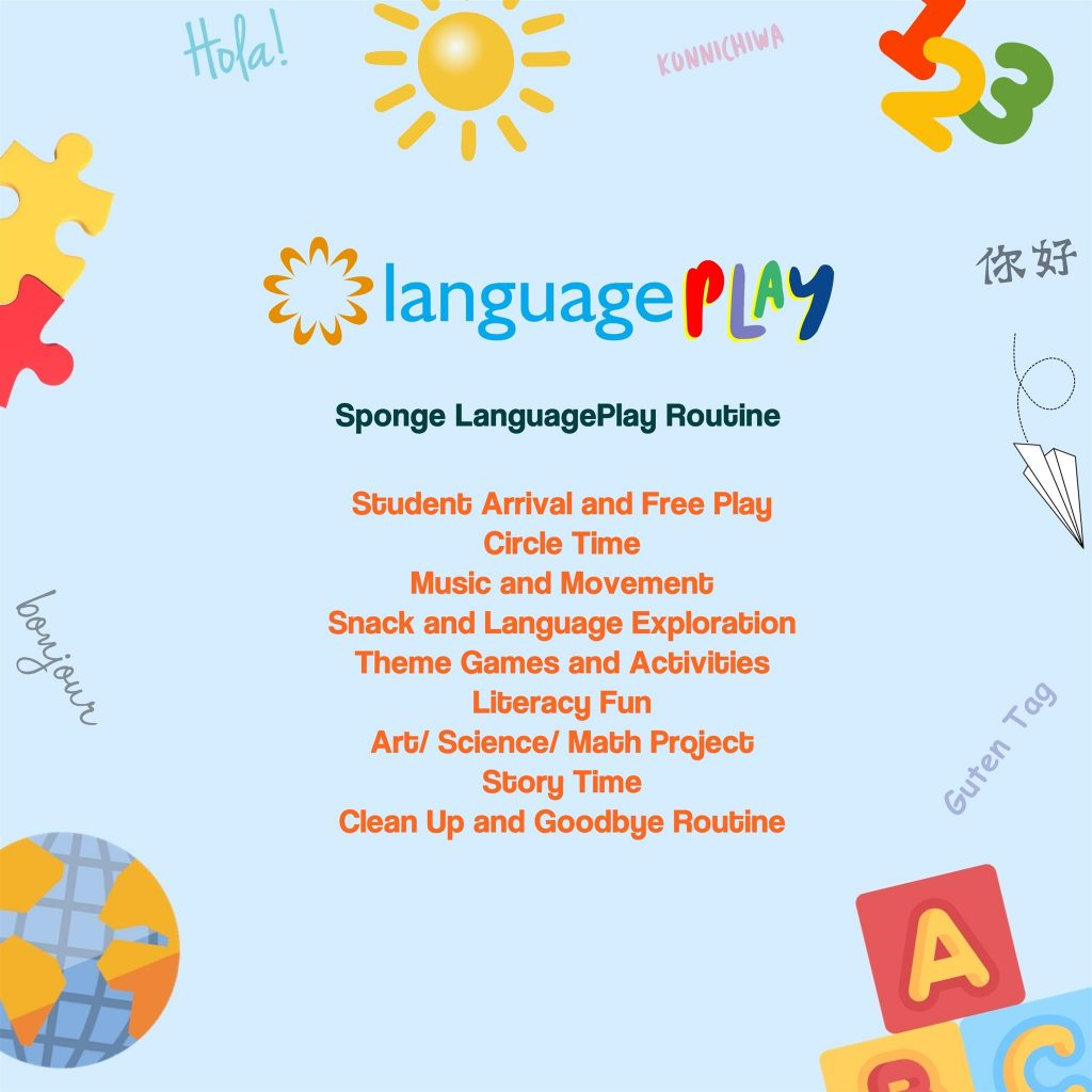Program is offered in Spanish, Mandarin, French, Japanese, and German at  our Issaquah Center.
